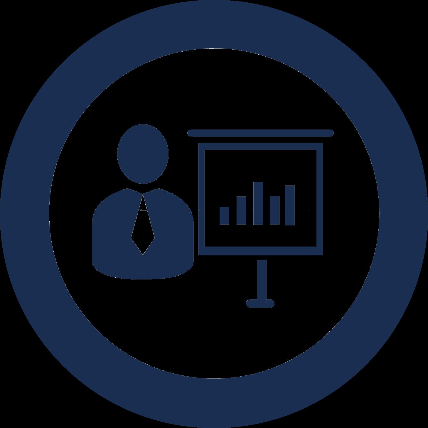 consulting support icon dark white